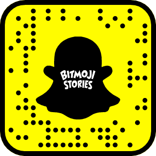 Snapcode stories Bitmoji